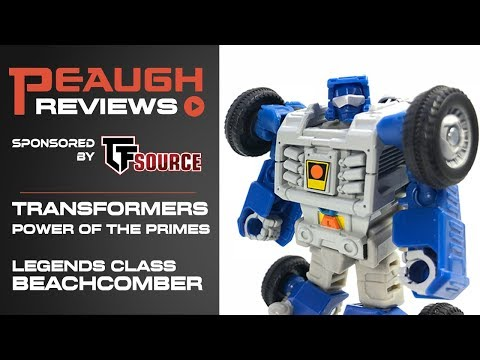 Video Review: Transformers: Power of the Primes - Legends Class BEACHCOMBER