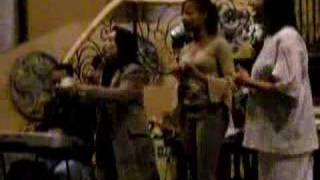 Tita Nimfa w/ the Sledge Fanily