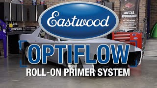 How To Roll On Primer - Painting a Car with OPTIFLOW Roll On Paint System - Eastwood