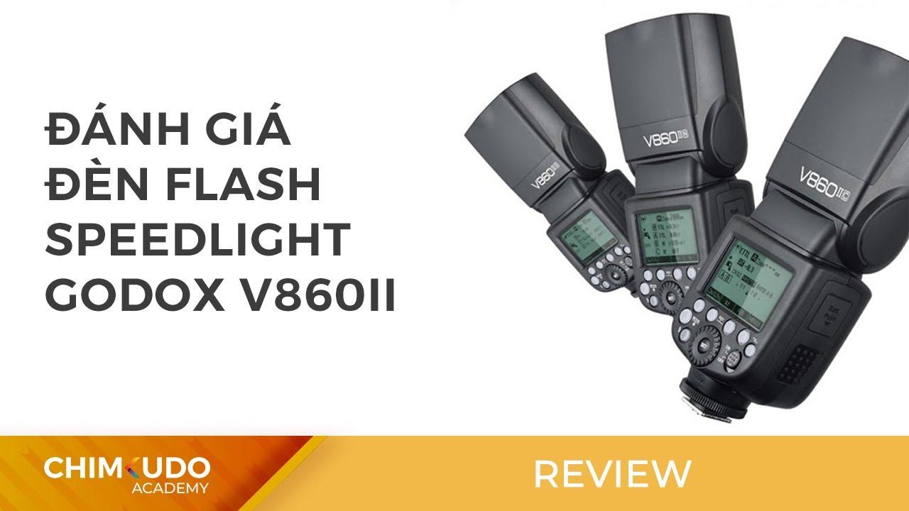 Đánh giá đèn flash speedlight Godox v860II
