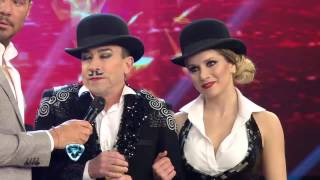 Showmatch 2014 - La sorprendente coreo de Aníbal Pachano y Laura Fernández