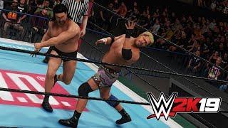 WWE2K19 PC版。難易度レジェンドの健介に悪戦苦闘…