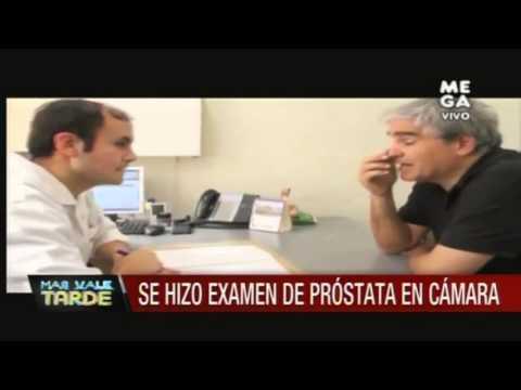examen de la cámara prostática