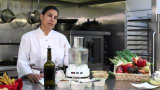 Recipe For Bread Dip With Parm Cheese, Walnuts, Basil, Olive Oil & Basalmic Vinegar : Dip It