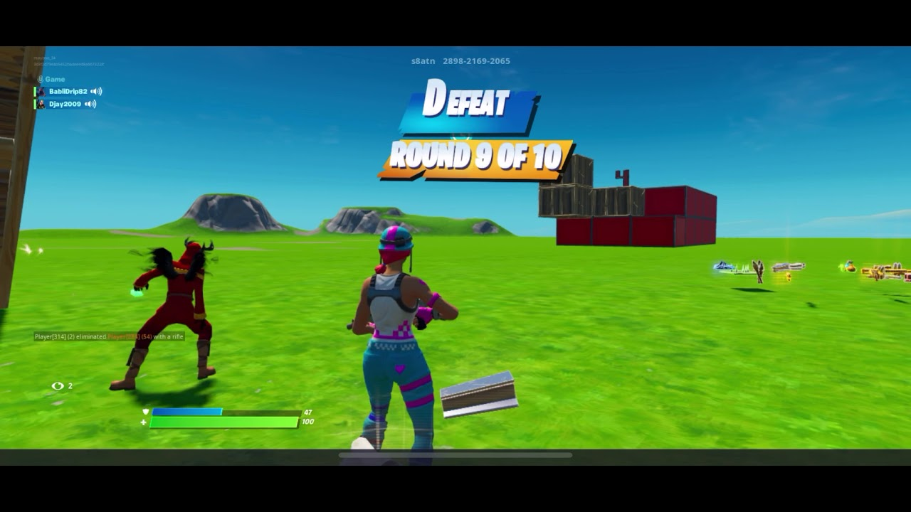 Random Players Fortnite With Pc And Xbox Playing Creative With Random People In Fortnite Youtube