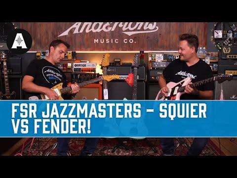 Fender Vs Squier Jazzmaster Shootout!