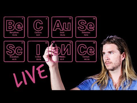New Channel Q&A! | Because Science Live