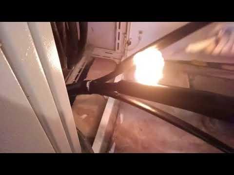 Обучающее видео: монтаж концевой кабельной муфты КВттп(150-240) на кабель 0,4 кВ, АВБбШв 4*185