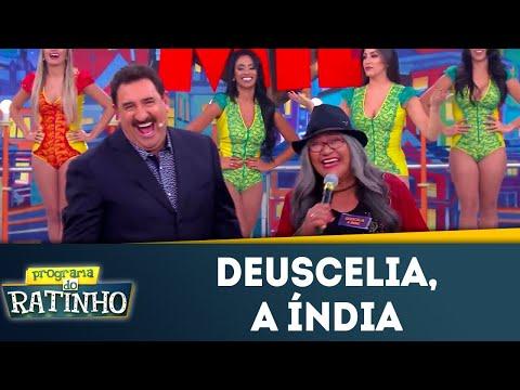 Deuscelia, a índia | Programa do Ratinho (16/07/2018)