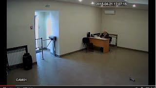 Дневное видео (режим AHD-L) с купольной AHD камеры на базе модуля 1/3
