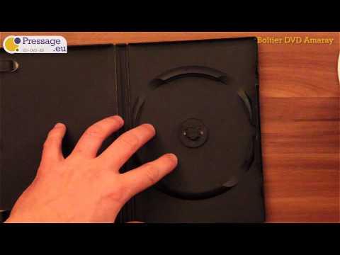 PRESSAGE.EU - Conditionnement : Boîtier DVD Amaray (Opaque)