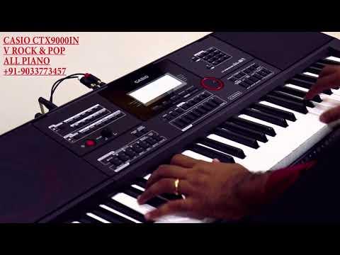 CASIO CT X 9000 IN ALL PIANO SOUNDS DEMO