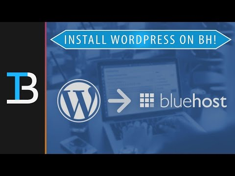 How To Install WordPress on Bluehost (Start A WordPress Site With Bluehost!) - 동영상
