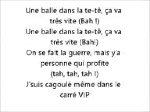 Kalash Criminel Carré VIP Paroles Lyrics