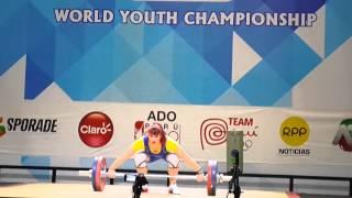 Акмолинская штангистка Татьяна Капустина на Чемпионате мира по тяжелой атлетике