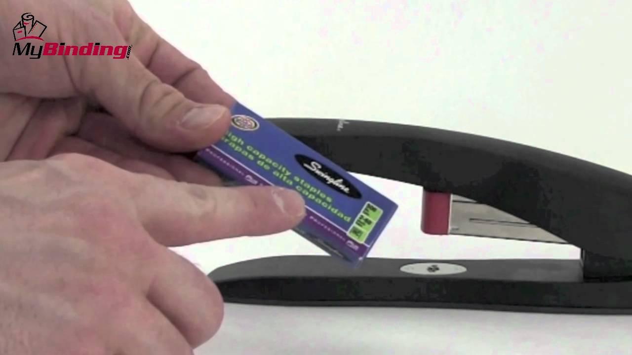 Swingline High Capacity Desk Stapler Demo S7077701 Youtube