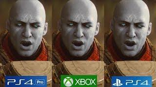 Destiny 2 - PS4 Pro vs PS4 vs Xbox One Complete Analysis!