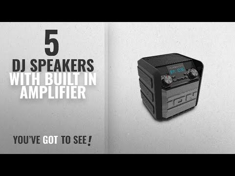 Top10 Dj Speakers With Built In Amplifier [2018]: ION Audio Tailgater Express   Compact
