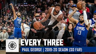 Every Paul George Three-Pointer This Season (So Far)   LA Clippers