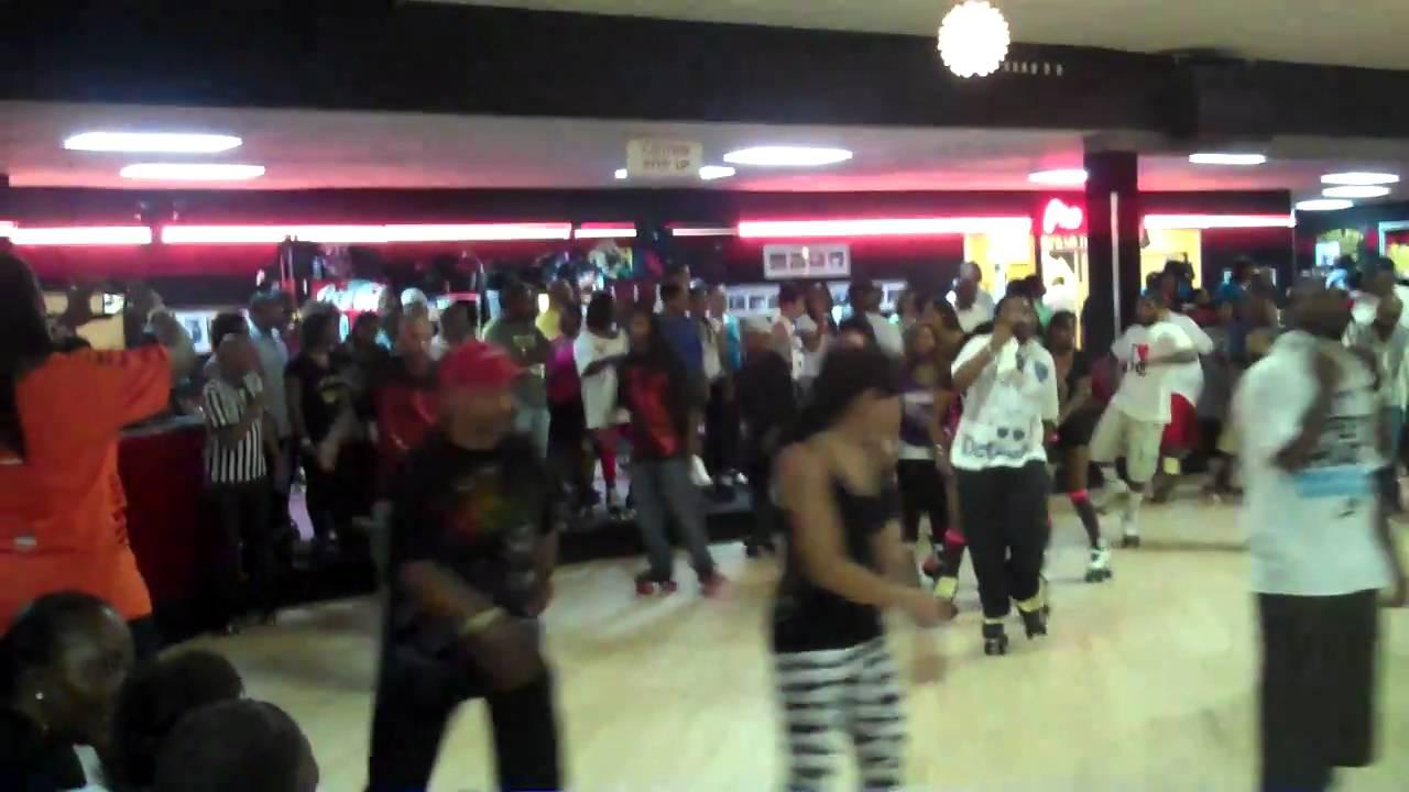 roller skating at cascade youtube