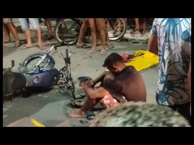 COLISÃO ENTRE MOTOS EM ALHANDRA