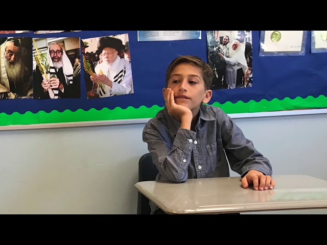 6th Grade Purim Video