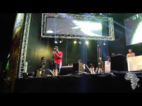 Nasty C Performing Jump & Juice Back at Major League Gardens