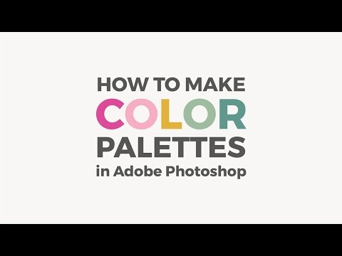 Make A Color Palette In Photoshop