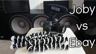 Ebay Gorillapod VS Joby Gorillapod!