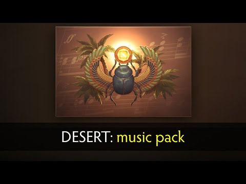 Dota 2 6.86: Desert Music Pack