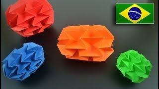 Como fazer uma Mini Bola Mágica (método mais fácil)