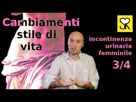 Incontinenza urinaria cambiamenti comportamentali