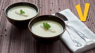 Creamy Celeriac Soup | The Vegan Corner