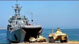 مناورات بين قوات المغاوير البحرية الجزائرية ️والمارينز الأمريكية في سواحل جيجل