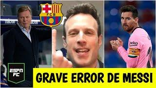 ANÁLISIS Barcelona RESBALÓ vs Levante. Grave error de Messi. ¿Regaló La Liga al Atlético? | ESPN FC