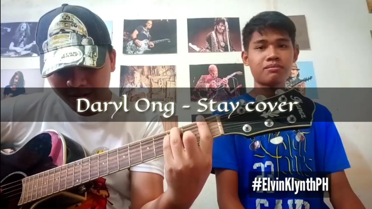 Daryl Ong - Stay cover