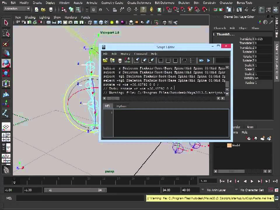 How to rig a character for posing in Maya   Creative Bloq