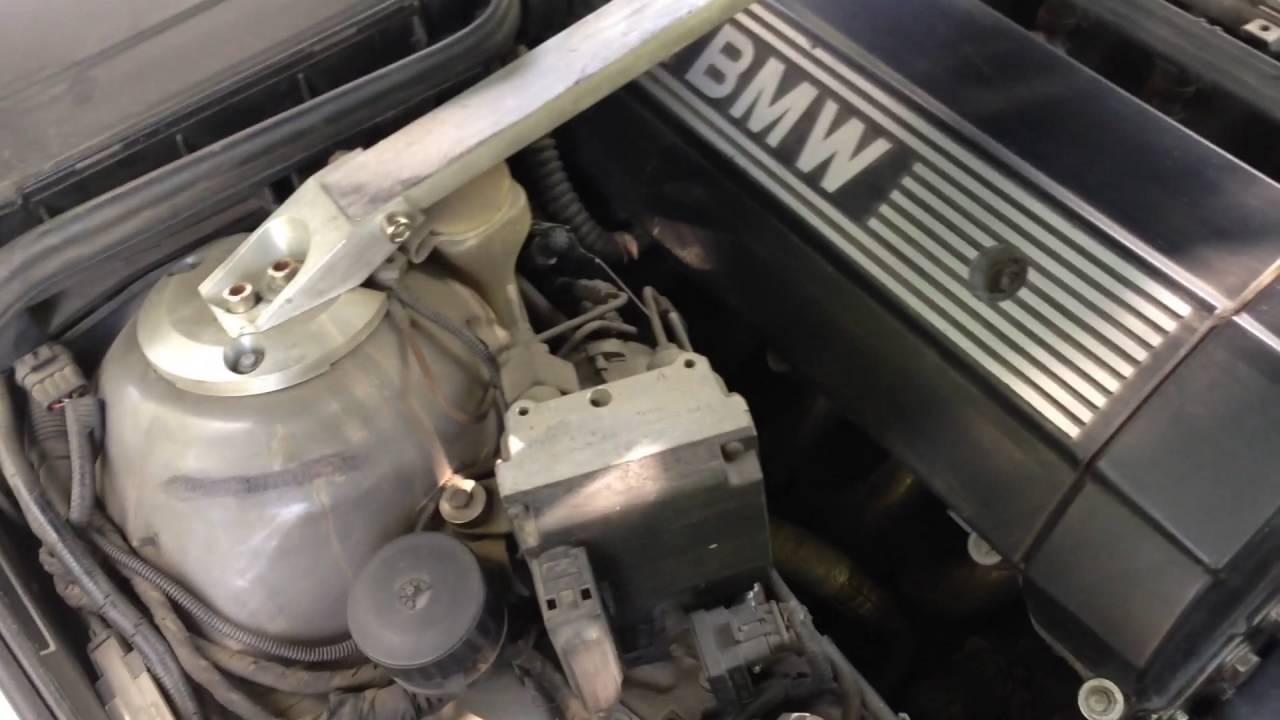 замена вискомуфты на электровентилятор на BMW