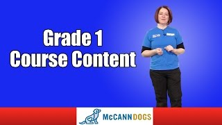 Grade 1 Course Content Family Dog Obedience