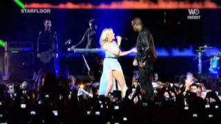 Скачать Taio Cruz Feat Kylie Minogue Higher Live Starfloor 30 10 10