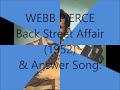 Webb Pierce - Back Street Affair (1952) & Answer Song.