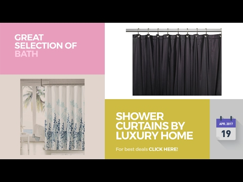 Shower Curtains By Luxury Home Great Selection Of Bath Products