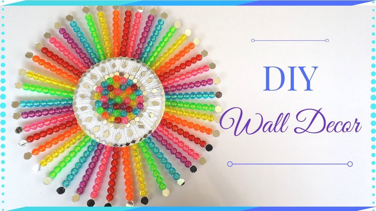 diy home decor from waste diy wall decor how to make diy room decor using waste 12091
