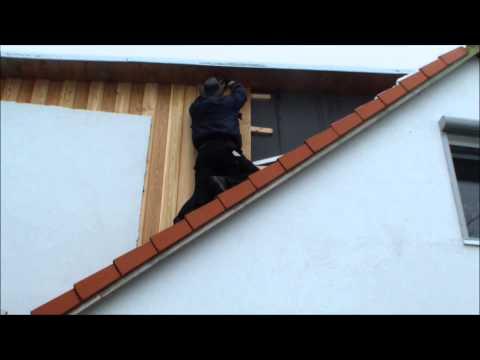 Wie verkleide ich eine Haus Giebelseite mit Holz aus sibirischer Lärche? Teil 2 Die SelberMacher
