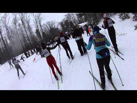 Trail Genius - American Birkebeiner 2013 - 1st Half
