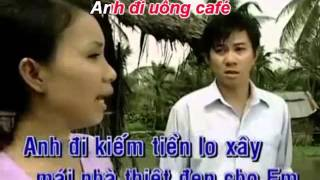 Karaoke [TAN NHAC] Cafe miệt vườn - song ca Xakura