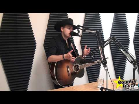 Brett Kissel - interview at Country 92.9 in Chatham