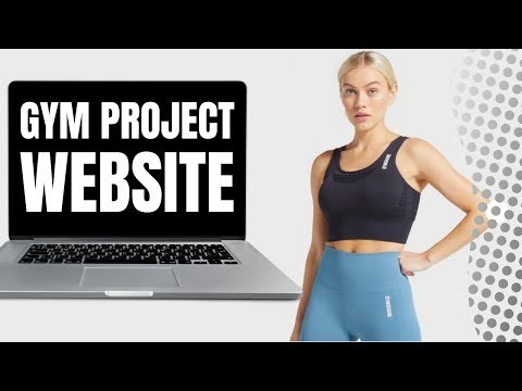 Building A Website For A Business - Real Gym Website Project