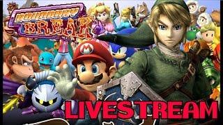 Boundary Break: Super Smash Bros Brawl Levels and Subspace emissary Livestream