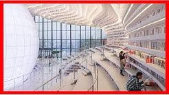 Cette Bibliothèque De 1,2 Million de Livres Vient d'Ouvrir En Chine Et Son Intérieur Est à Couper l